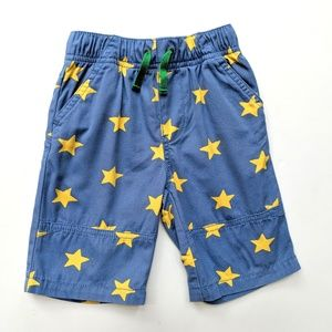 Other - Mini Baby Boden Boys Canvas Shorts Star 2-3